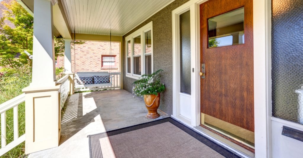 4 Hardscaping Updates To Increase Curb Appeal, front porch